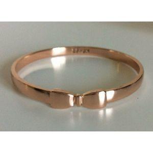Erin Fetherstone Jewel Rose Bow Bangle Bracelet